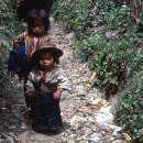 Todos Santos - Little Girls on Path
